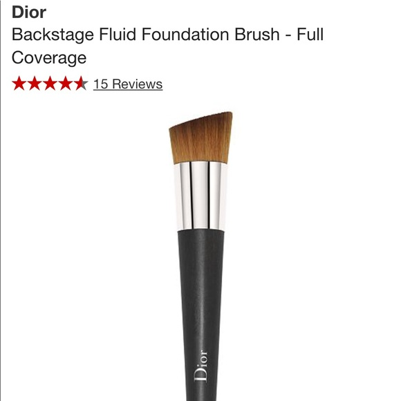 9b258725d3 Dior Fluid Foundation Brush - Full Coverage